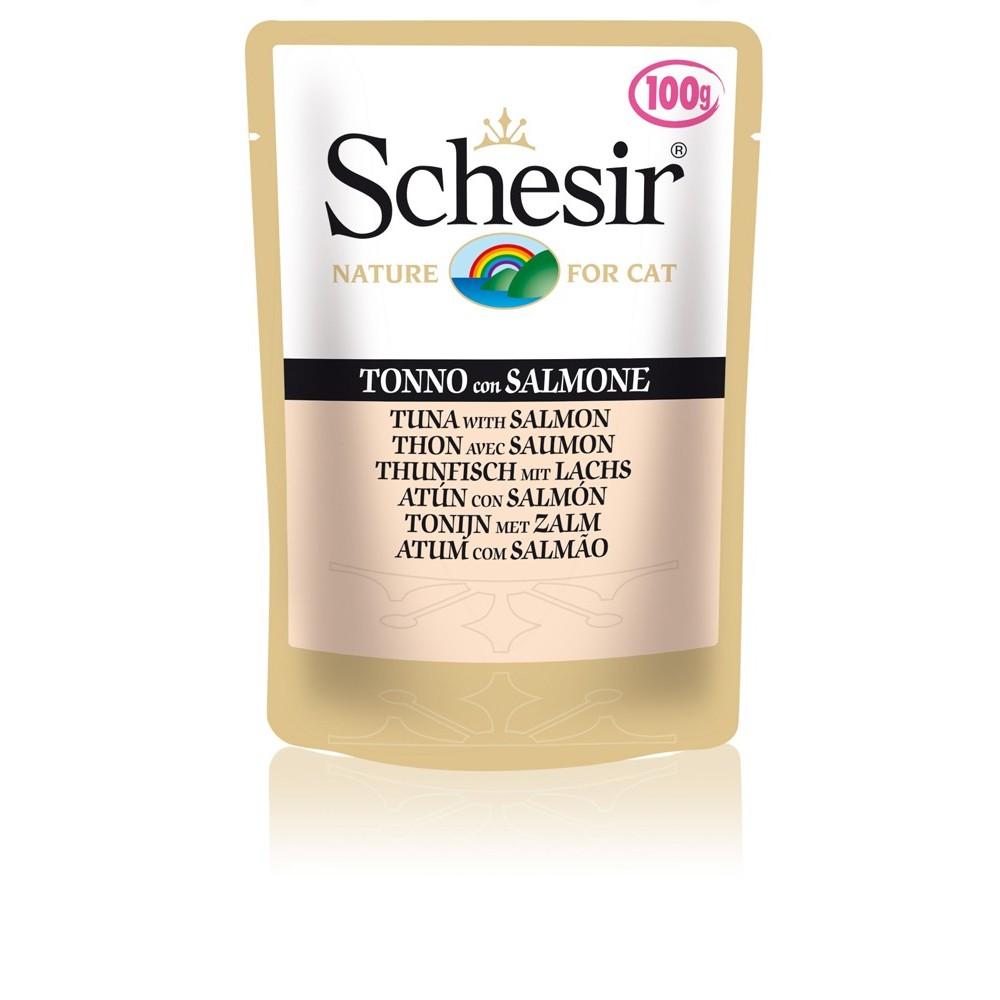 Schesir Cat Gelee Adult Thunfisch & Lachs 100 g