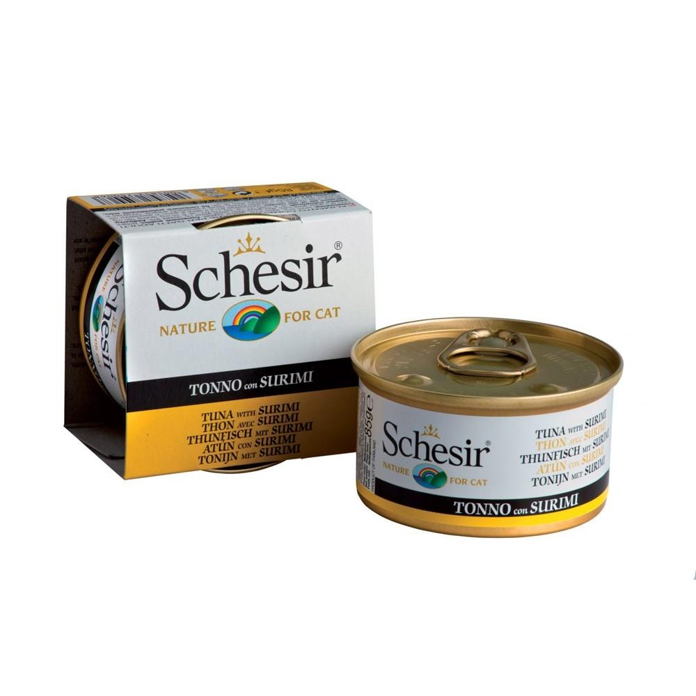 Schesir Cat Gelee Adult Thunfisch & Surimi 85 g