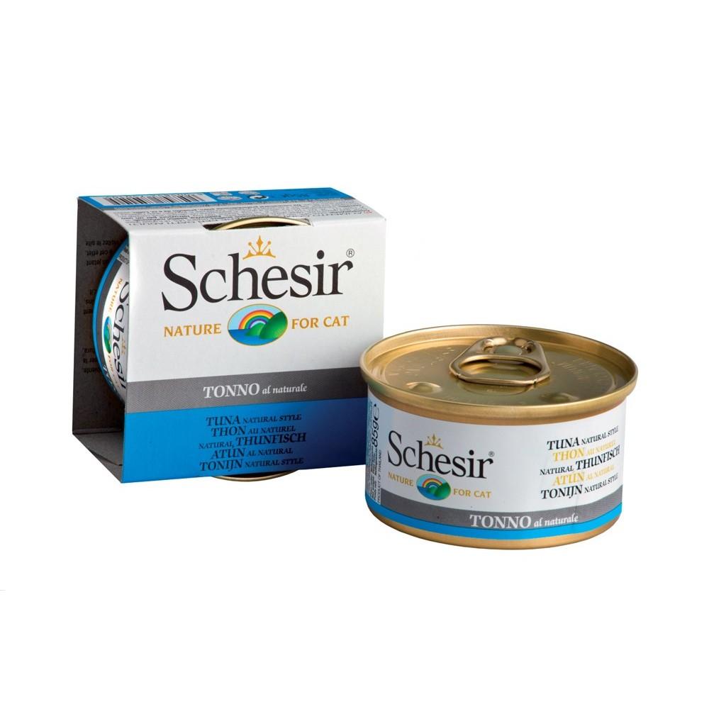 Schesir Cat Natural Thunfisch 85 g