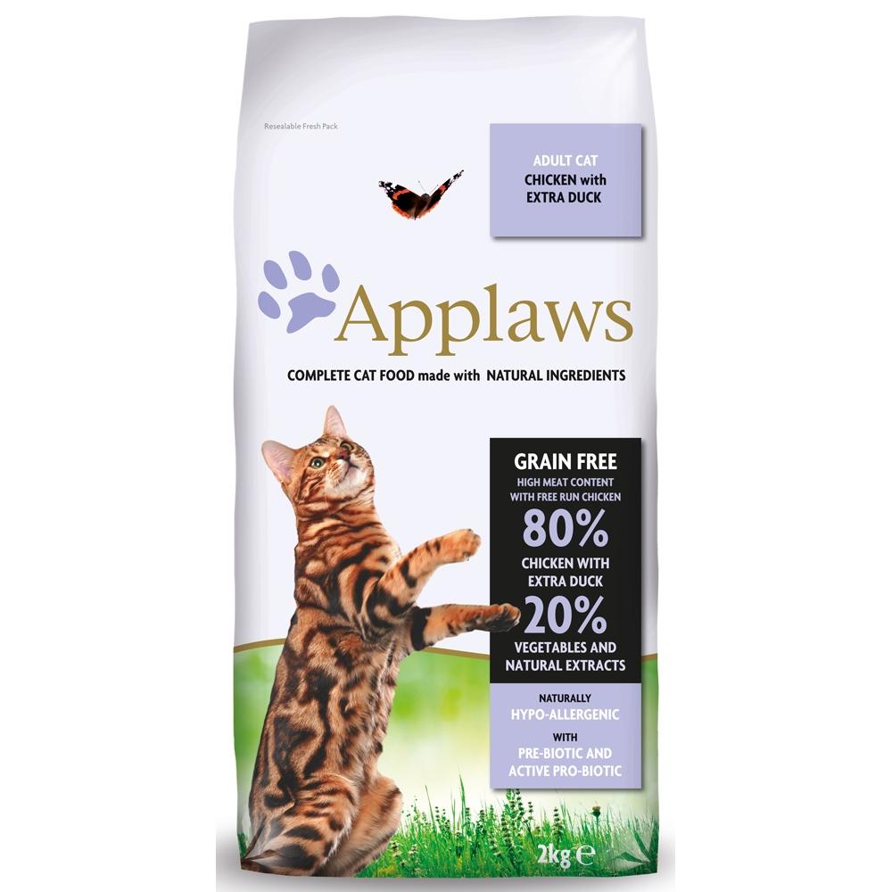 applaws cat adult h hnchen ente. Black Bedroom Furniture Sets. Home Design Ideas