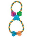 JW Dog Toys Figure 8 Treat Pod