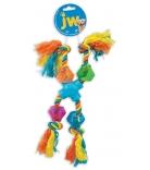 JW Dog Toys X-Pod Treat Rope
