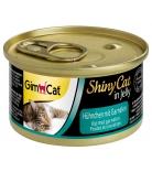 Gimborn GimCat Shiny Cat Adult Hühnchen & Garnelen 70g