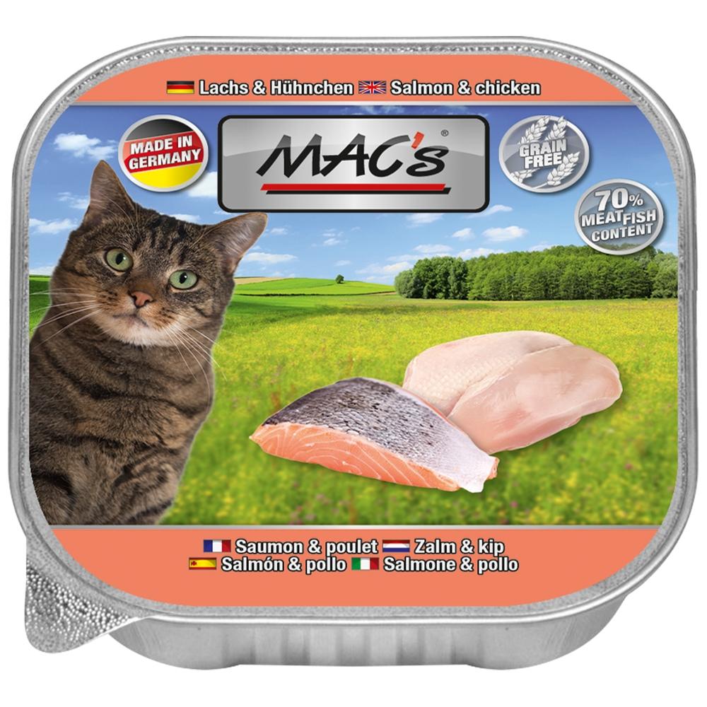 Mac's Cat Lachs & Hühnchen 85g