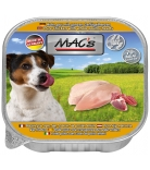Mac's Dog Huhn Pur & Geflügelherzen