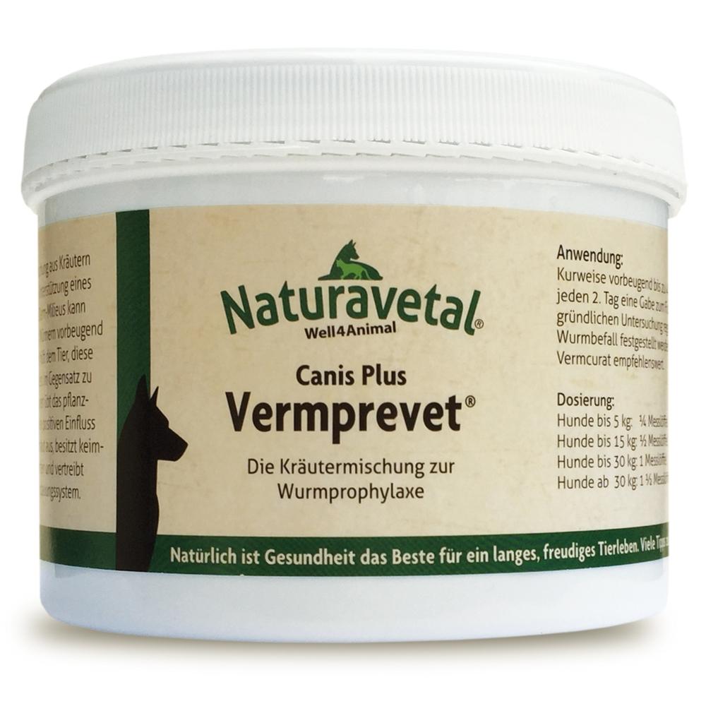Naturavetal Canis Plus Vermprevet 250g