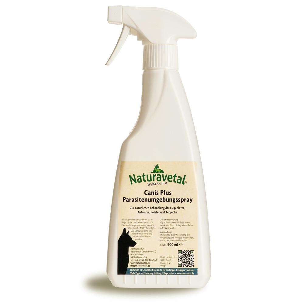 Naturavetal Canis Plus Parasitenumgebungsspray 500ml