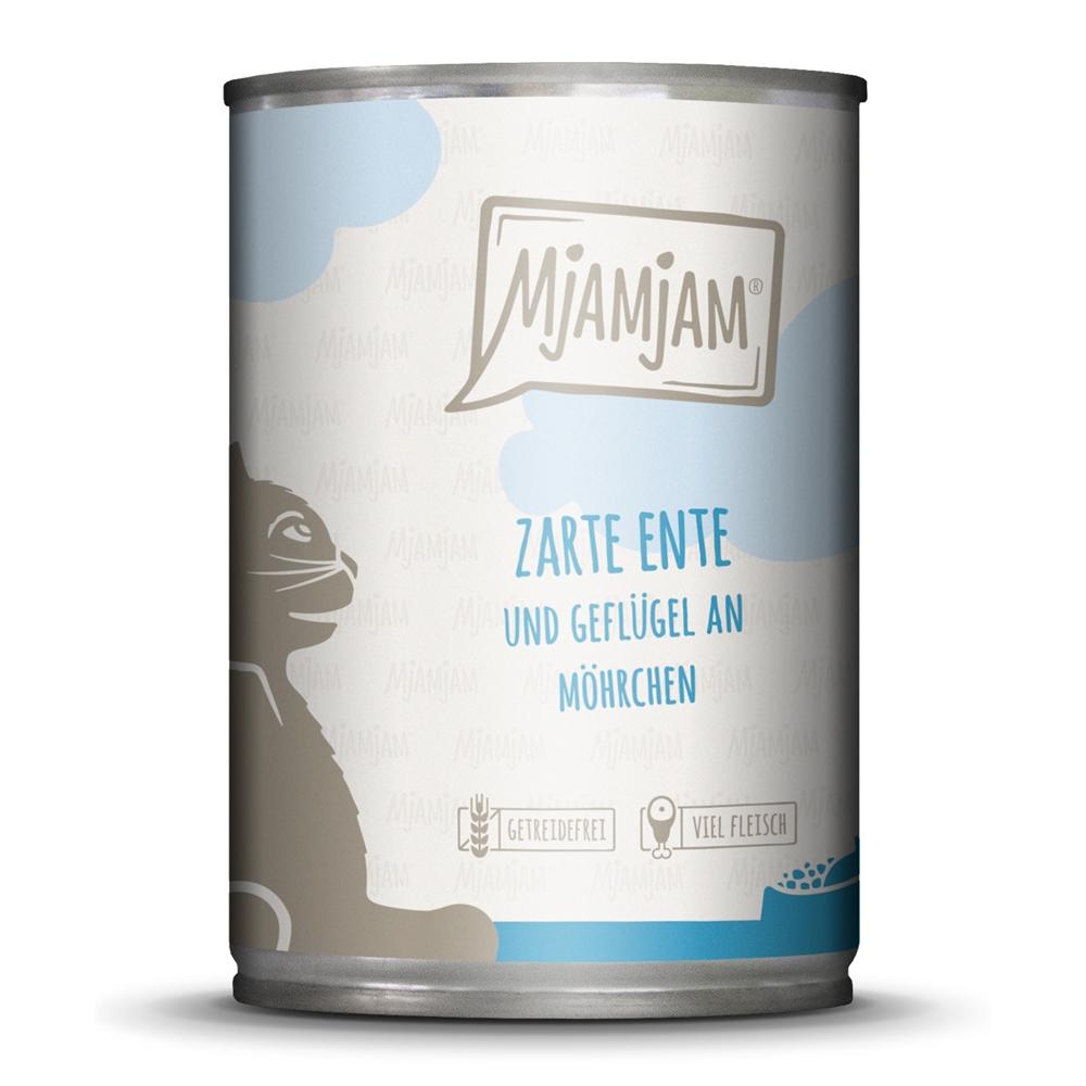MjAMjAM Cat Zarte Ente & Geflügel an leckeren Möhrchen