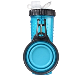 Dexas Snack-Duo with Companion Cup Futter-/Wasserbehälter mit Napf 2x 300ml