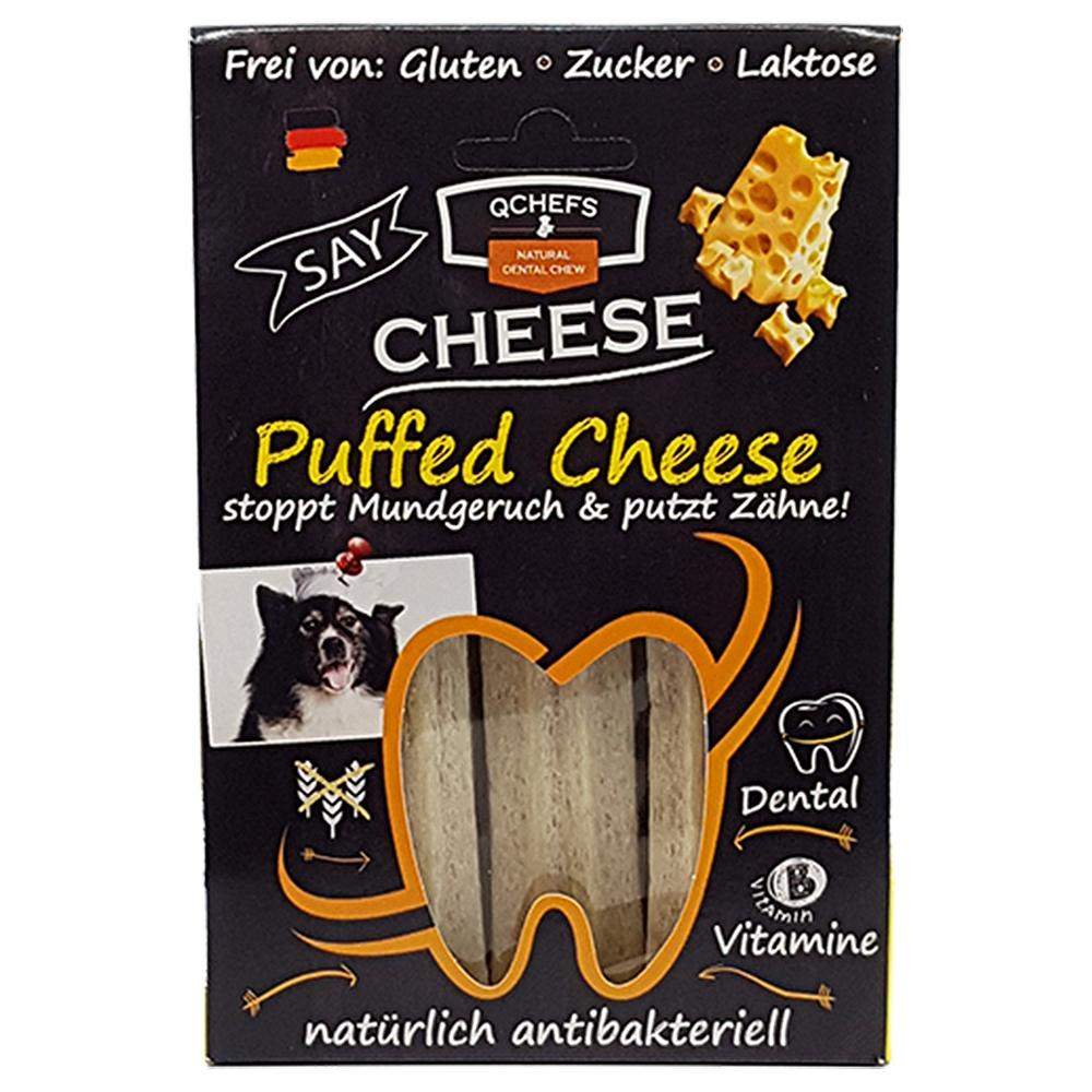 QChefs Puffed Cheese 3 Stück