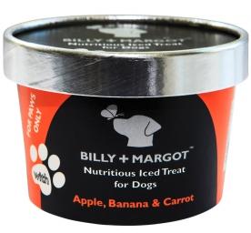 Billy & Margot Hundeeis Apfel, Banane & Karotte