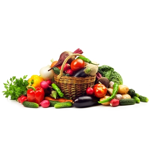 Flocken, Obst & Gemüse